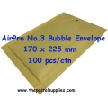 Airpro Bubble Envelope No.3 (100 per box)
